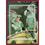 produto Guiné Equatorial - Bloco- Pássaros Da Austrália- 1974- Aéreo