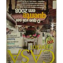 Revista Casa E Jardim Nº 636 - Janeiro/2008