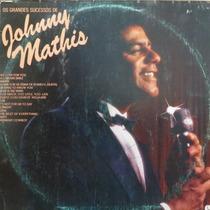 Lp Johnny Mathis - Os Grandes Sucessos De Johnny Vinil Raro