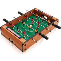 Mini Pebolim, Totó, Futebol De Mesa 52x31x8cm
