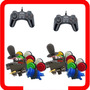 Kit Arcade 2 Comandos 20 Botoes Nylon 2 Controles Usb
