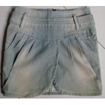 Saia Jeans Planet Girls Tamanho 38
