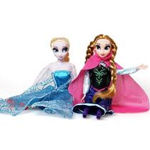 Bonecas Elsa E Anna Frozen Sem Caixa 5 Pronta Entrega