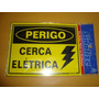 Placas De Sinalização - Cerca Eletrica/hidrante/extintor