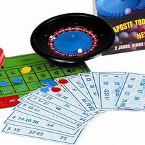 Brinquedo Jogo Bingo 100 Cartelas E Roleta Fortuna 1165 Nig