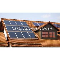 Coletor Solar Placa Aquecedora Aquecimento Agua 1,5 X 1,0 M