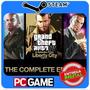 Grand Theft Auto Iv Complete Edition Pc Steam Cd-key Gta4