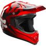 Capacete Fox Vf1 2015 Red Size P (55-56) Para Trilha A Sw