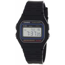 Relógio Casio W-59-1vq 1 Alarme Cronômetro Wr-50 Metros P