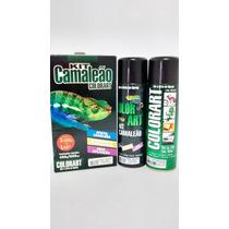 Tinta Spray Efeito Camaleão Kit Completo Vermelho Colorart