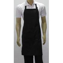 Avental De Peito,liso Ou Estampado,gastronomia, Chef Cozinha