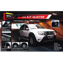 Kit Duster C/ Over Bumper Alargador Kit Farol Milha