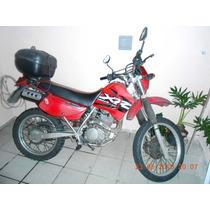 Honda Xr 200r Vermelha
