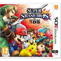 Super Smash Bros 3ds Pronta Entrega Lacrado