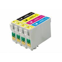 Kit Cartucho Compativel Epson 133 T1331 /1332/1333/1334 C/04
