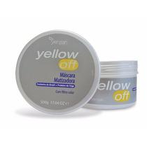 Yenzah Yellow Off Máscara Matizadora Com Filtro Solar 500g