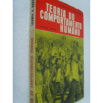 Livro: Teoria Do Comportamento Humano - Ludwig H. Borman