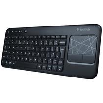 Teclado Sem Fio Logitech K400 Multimídia Wireless Com Touch