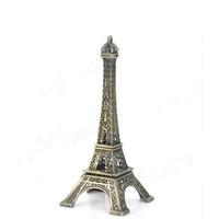 Miniatura Torre Eiffel De Metal 18cm - Decoração Para Casa