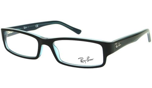 e426c4d3de36c Comprar Óculos De Grau Ray Ban Rb 5246 Preto azul Feminino Original ...