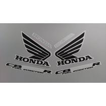 Kit Adesivos Honda Cb-300r 2009 Amarelo Metalico