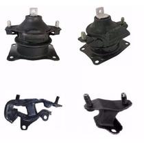 Kit Coxim Calço Motor Frontal, Traseiro E Cambio Accord 3.0