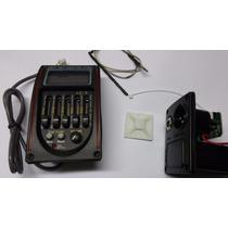 Captador Lc-5 Pre Amp Equalizador P/ Violão Com Afinador