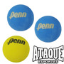 Kit 3 Bolas Frescobol Penn Original Azul Amarela Combine