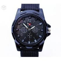 Relógio Militar Gemius Swiss Army Azul - Leilão !
