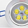 Kit 10 Spot Super Led Direcionável 5w Para Instalar No Teto