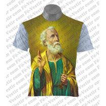 Camiseta Católica - São Pedro
