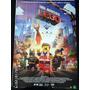 Poster Original Uma Aventura Lego O Filme - Dupla Face