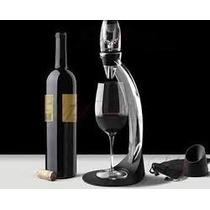 Aerador Vinho Decanter + Torre - Acessórios Luxuosos