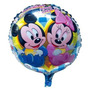 Balão Metalizado Mickey E Minnie Baby Azul
