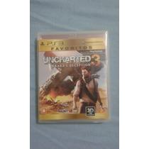 Uncharted 3,ps3 Novo, Lacrado E Original