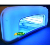Cabine Branca Uv 36w 220v Acrigel Gel Ultra Violeta