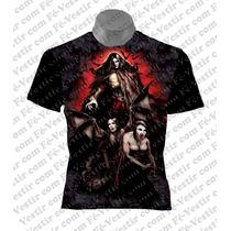 Camiseta Vampiro - Rock - Metal