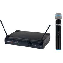 Microfone Dinâmico S/ Fio Lyco Uh01m - Maxcomp