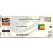 Ingresso Copa Confederações 2005 Brasil X Argentina Final