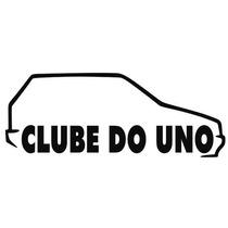 Adesivo Decorativo Parabrisa Carro Club - Clube Do Uno