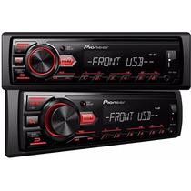 Mp3 Player Pioneer Mvh-88ub Lançamento Radio Usb E Rca