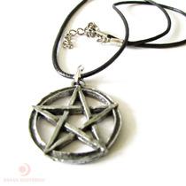 Colar Pentagrama Wicca - 27503