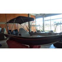 Lancha De Alumínio 5m Fortboat Premium 500 Completa