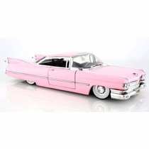 Cadillac Coupe De Ville 1959 Rosa 1:24 Jada