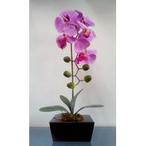 Arranjo Artificial Orquídea Unitária