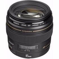 Lente Canon Ef 85mm F/1.8 Usm Telefoto Nf + Garantia 1 Ano