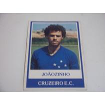 Joãozinho - Cruzeiro - Nº 434 - Ping Pong Futebol Cards