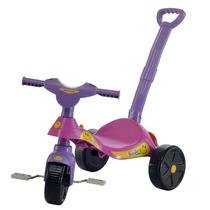 Carrinho Triciclo Bicicleta Criança Passeio Com Haste