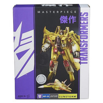 Transformers Masterpiece Sunstorm