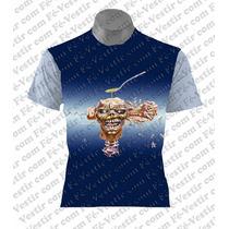 Camiseta Rock - Iron Maiden